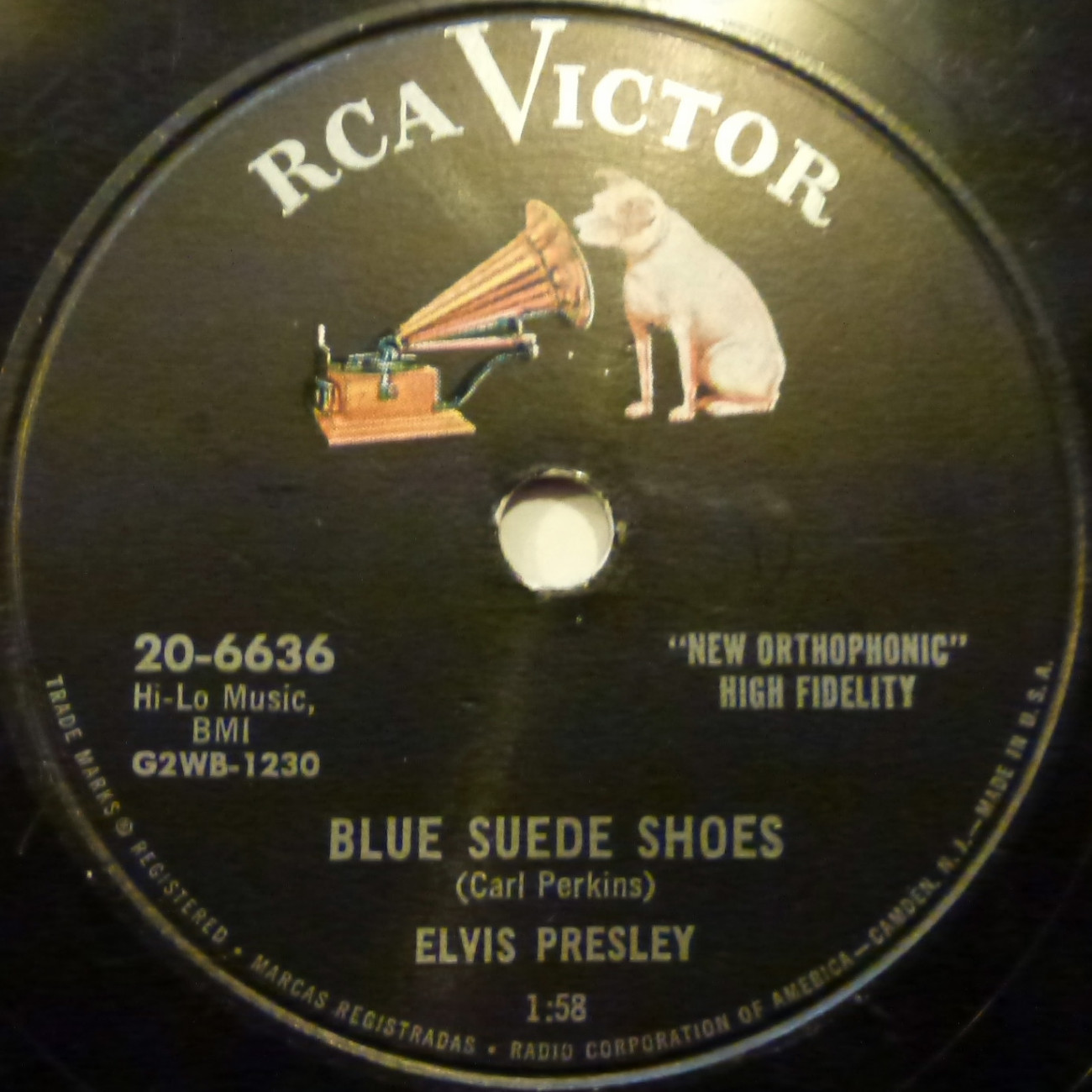 Blue Suede Shoes / Tutti Frutti 20-6636bnfz3c