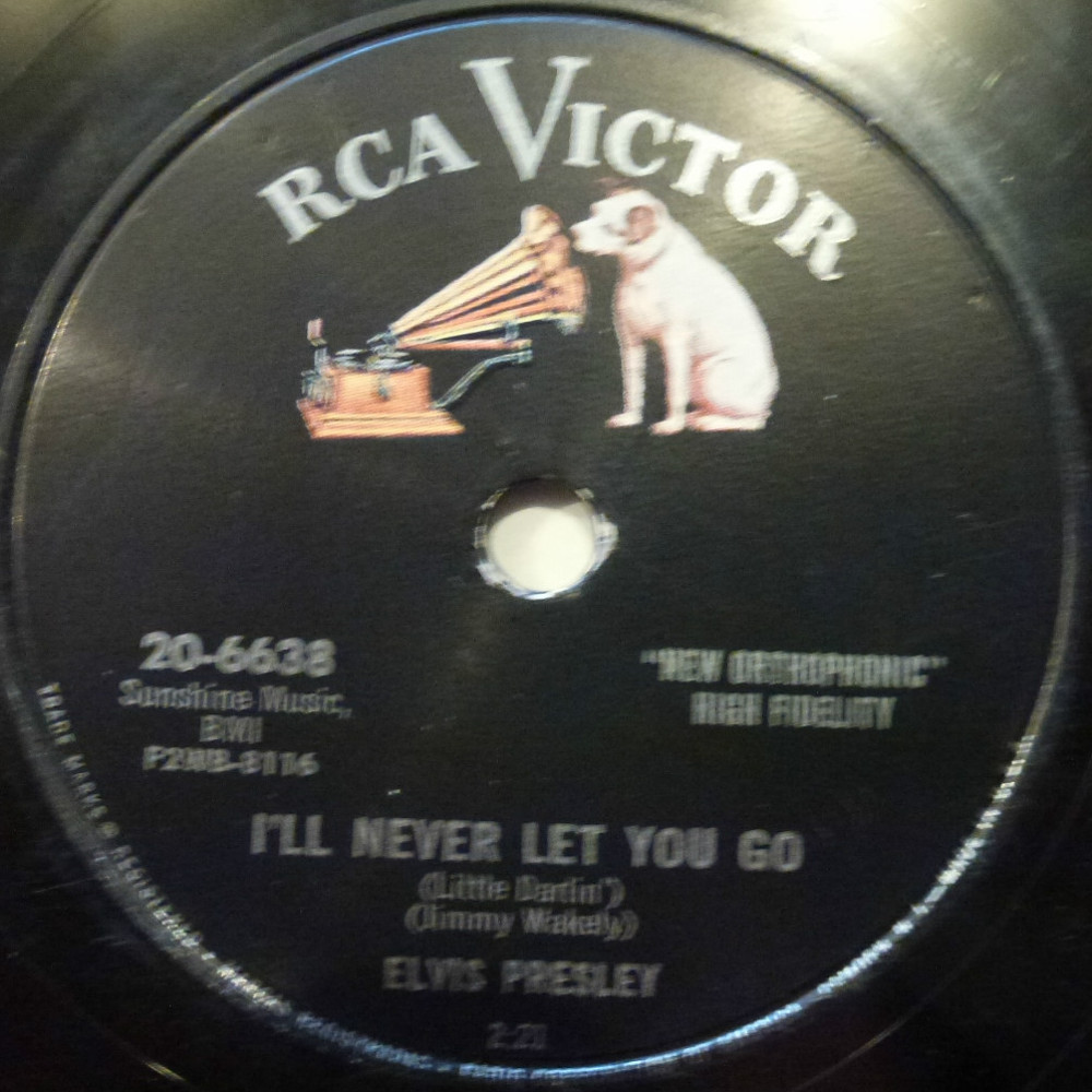 I'll Never Let You Go (Little Darlin') / I'm Gonna Sit Right Down And Cry (Over You) 20-6638bl9ylm