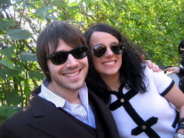 Alizée with Jérémy
