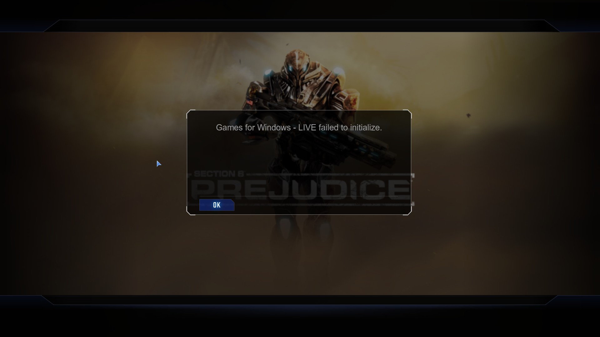 failed to initialize games for windows live virtua tennis 4