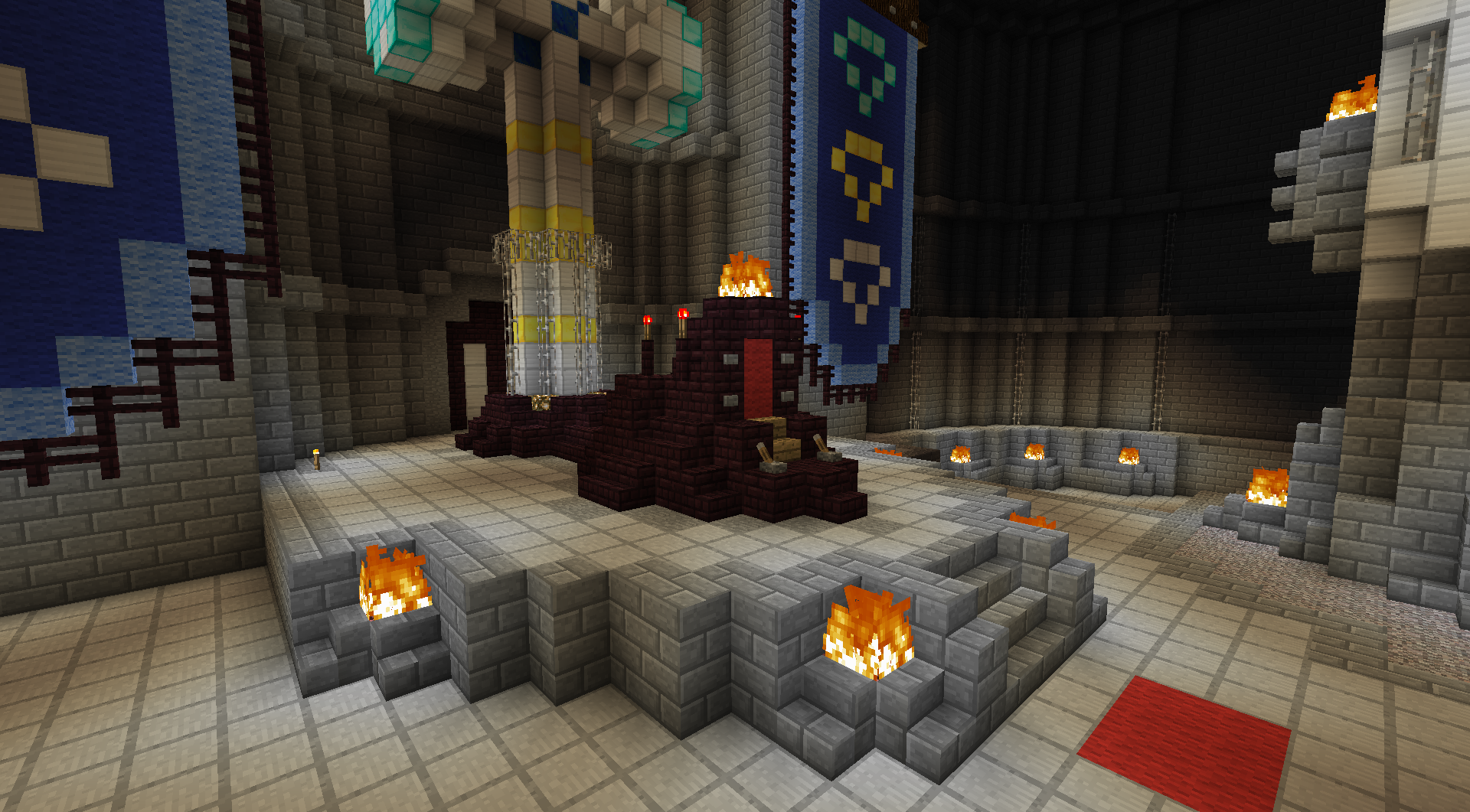 Minecraft Throne - All