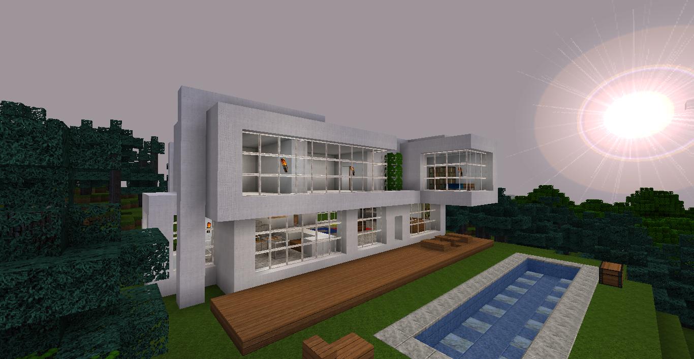 Zeigt eure Modernsten Haeuser! rchiv - Minecraft.de