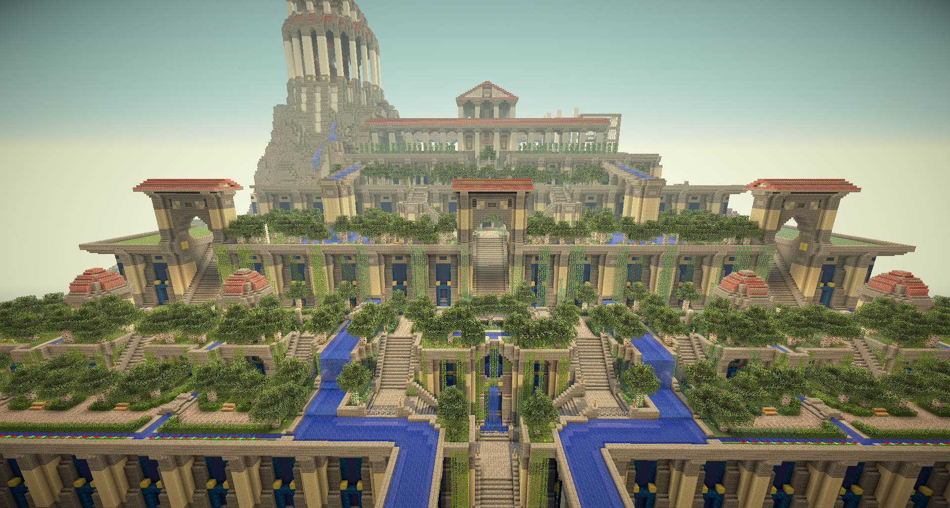Oh You Know Just The Hanging Gardens Of Babylon Minecraft