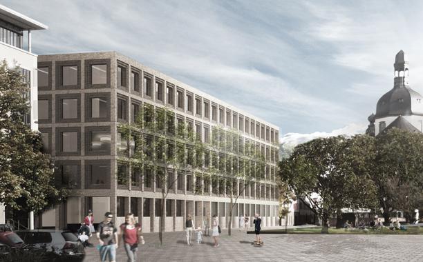Ma uni neubau b6 deutsches architektur forum for Uni architektur