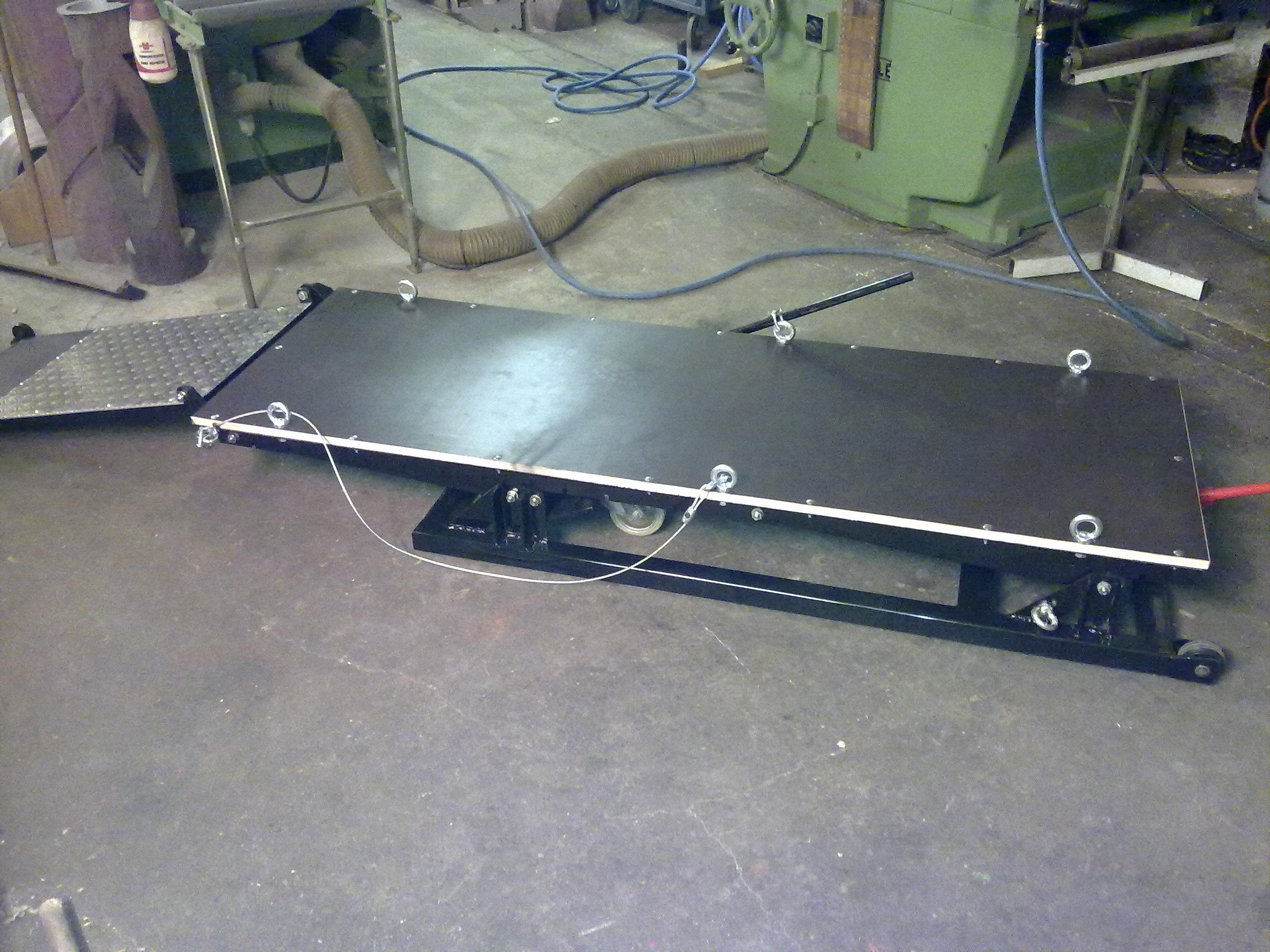 motorradhebeb hne aus holz selber bauen hydraulic actuators. Black Bedroom Furniture Sets. Home Design Ideas