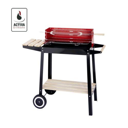 wow ebay activa grillwagen bbq holzkohlegrill nur 18 99 euro inkl versand. Black Bedroom Furniture Sets. Home Design Ideas