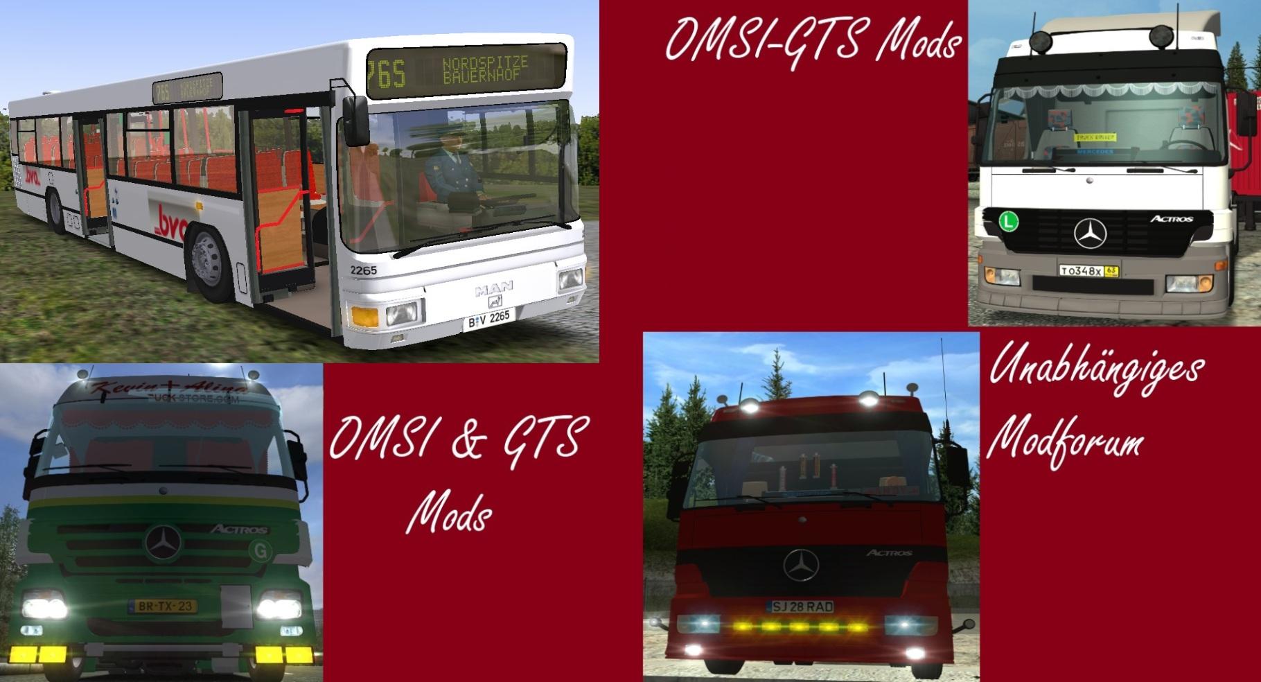 Download-Seite für GTS & OMSI