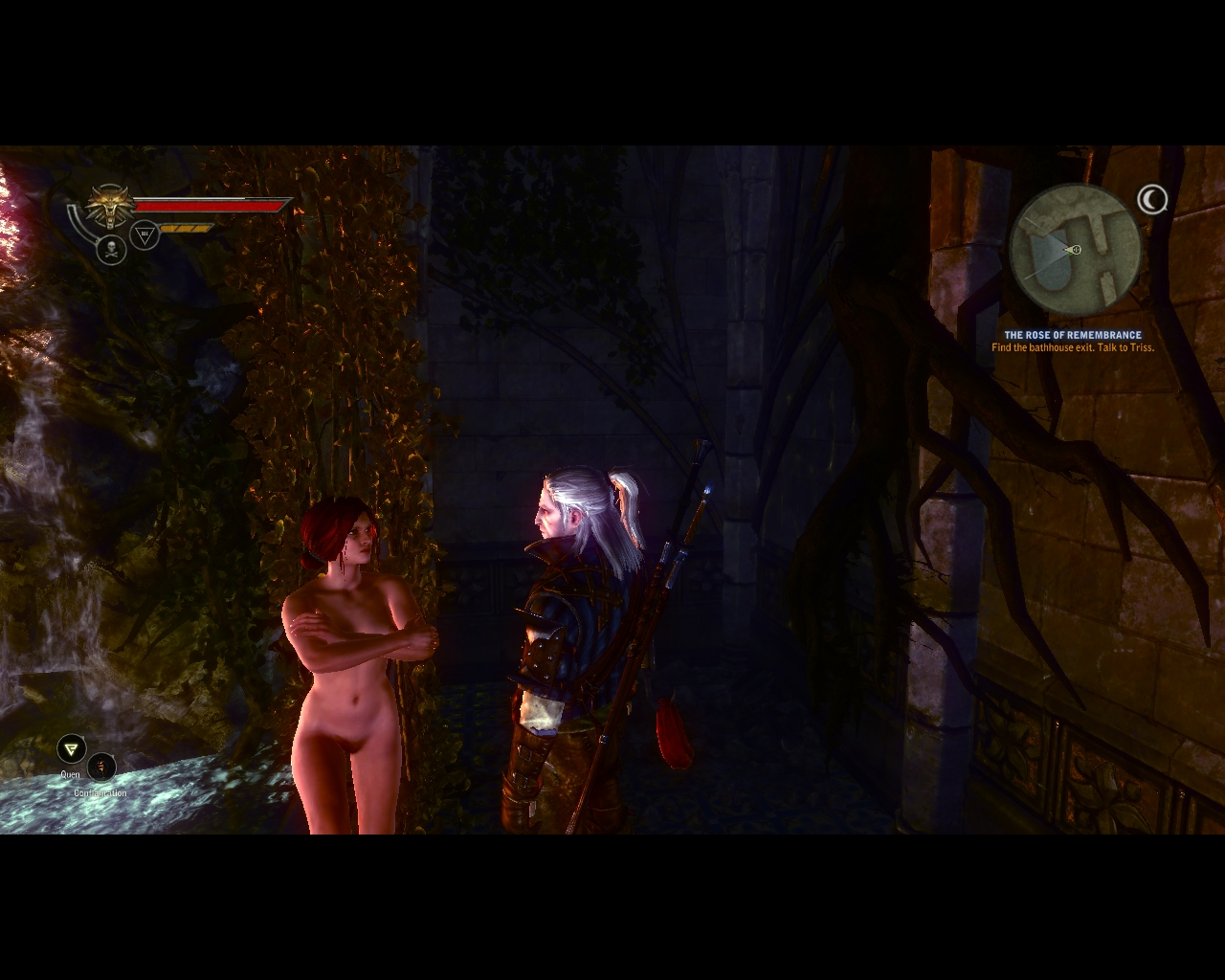 Witcher 2 nude mode porn movies
