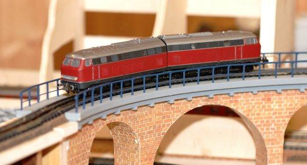Brucke Im Gleisbogen Kurve Brucke Pit Radius Jakob Railroad24