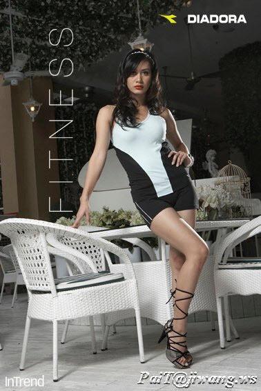 (GAMBAR) Marsha pakai baju fitted dalam In Trend