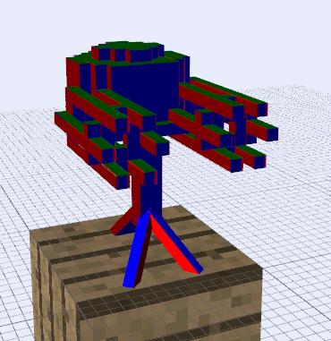 minecraft how to build a dispenser