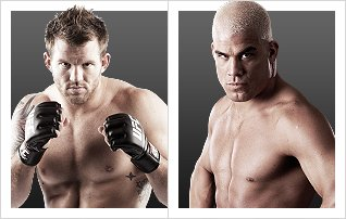 Ryan Bader (12-1) vs. Tito Ortiz (15-8) (Foto via Zuffa LLC)
