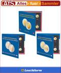 SET 3x Sammelalbum für 2 Euro Gedenkmünzen Bundesländer