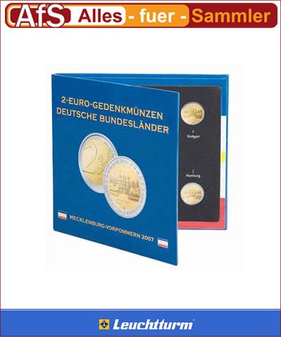Sammelalbum Für 2 Euro Münzen Mecklenburg Vorpommern