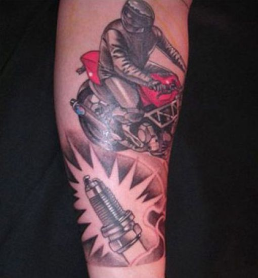 Tatuaże z motywem sportowym 5