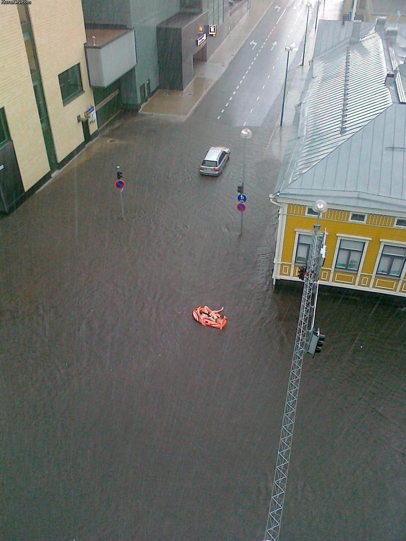 Miasta w czasie powodzi 56