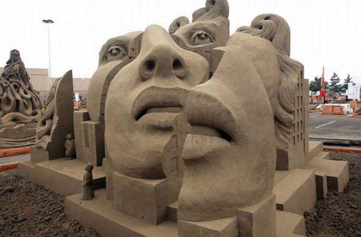 Najlepsze rzeźby z piasku na świecie. 7