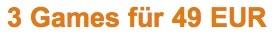 Amazon 3 Games 49 Euro