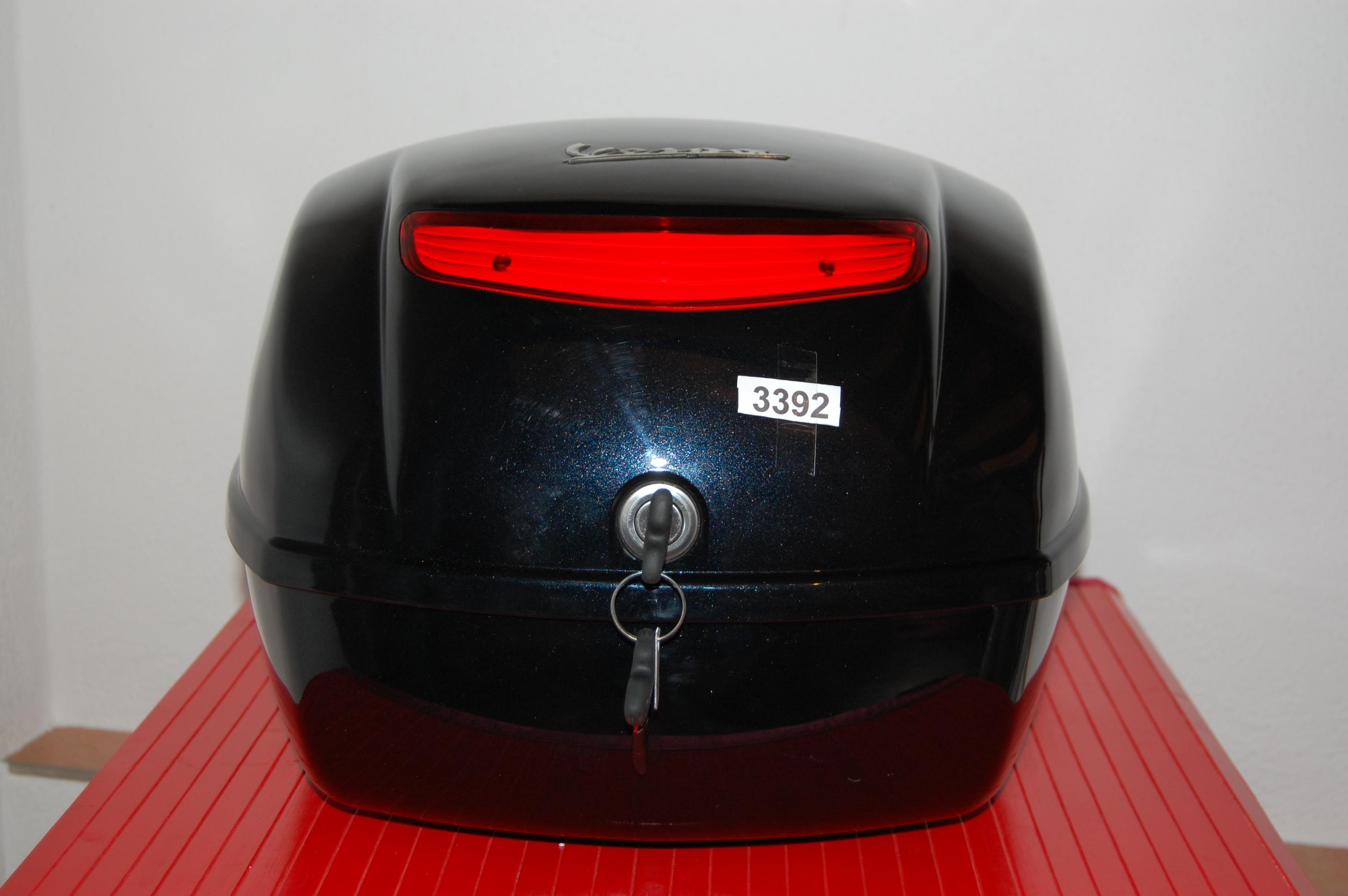 topcase koffer top case roller vespa lx schwarz 3392. Black Bedroom Furniture Sets. Home Design Ideas