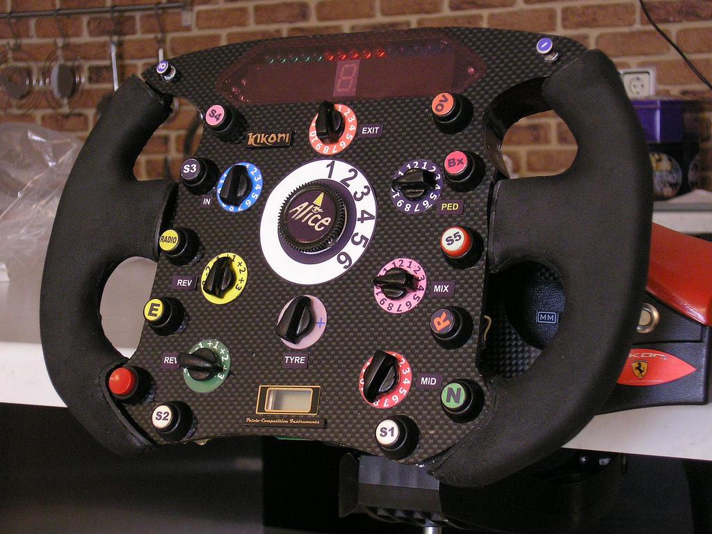 Как сделать руль на ноутбук