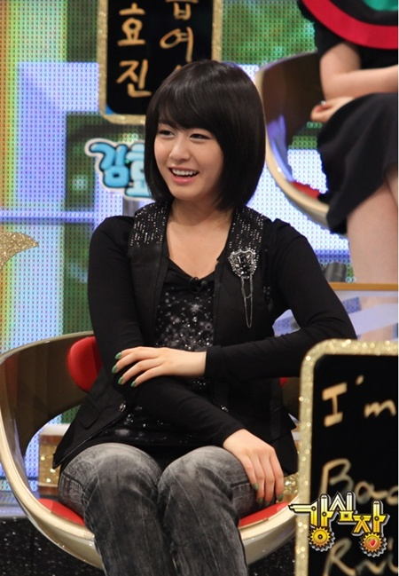 K Pop News: Ji Yeon did the sexy chair dance on Strong Heart!