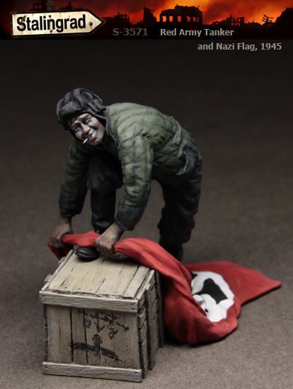 Resinfigures from Stalingrad. 3571-1rw166
