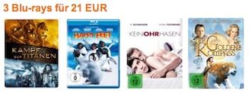 3 Blu-rays Amazon