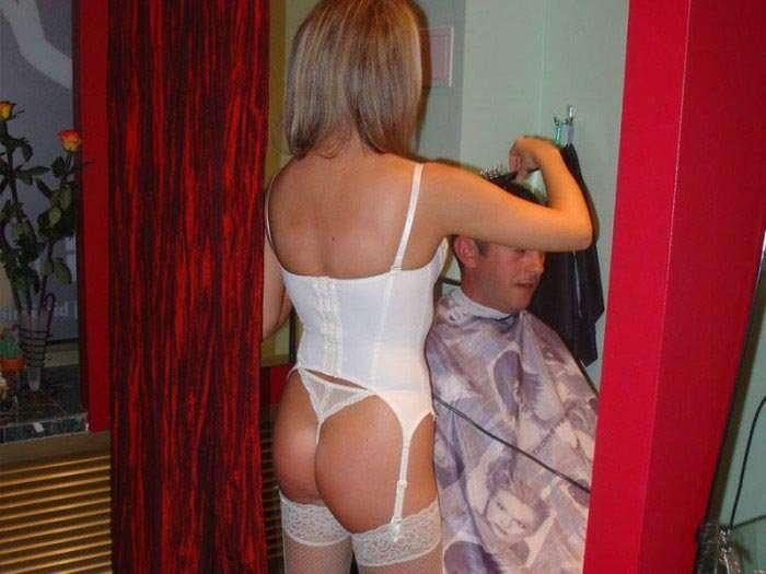 HotCut - fryzjerki w erotycznej bieliźnie 5