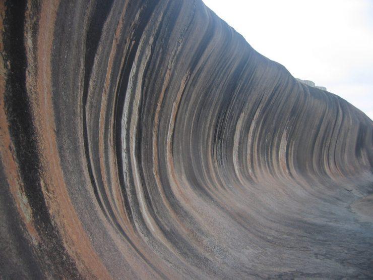 Wave Rock - skalna fala 4