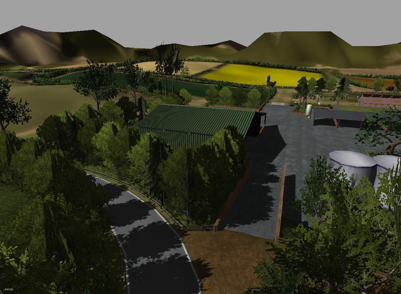Willows Farm Map Bay Willow Farm Version 2