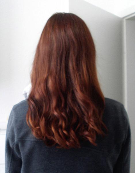 Frisuren oben glatt unten lockig