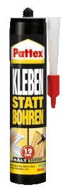 pattex kleben statt bohren 400 g montage kleber alleskleber pkb40 ebay. Black Bedroom Furniture Sets. Home Design Ideas