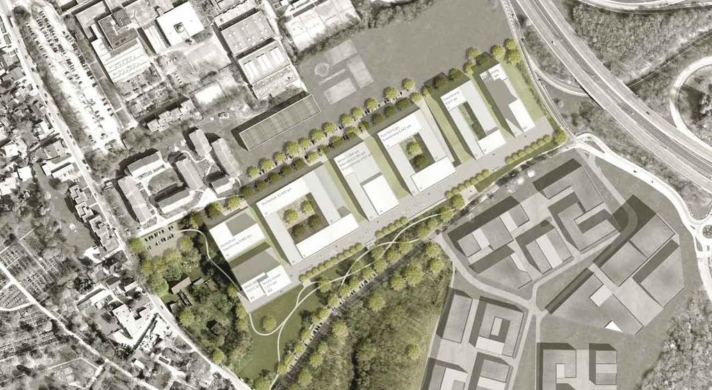 Bochum gesundheitscampus in bau seite 5 deutsches architektur forum - Architekturburo bochum ...