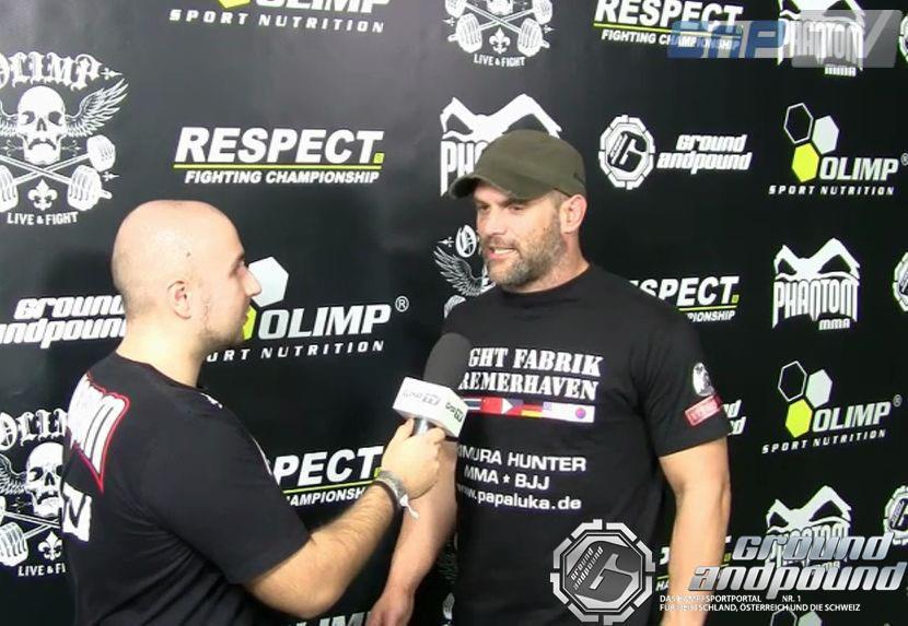 Ernst im GnP-TV Gespräch nach seiner Las Vegas Gym-Tour.