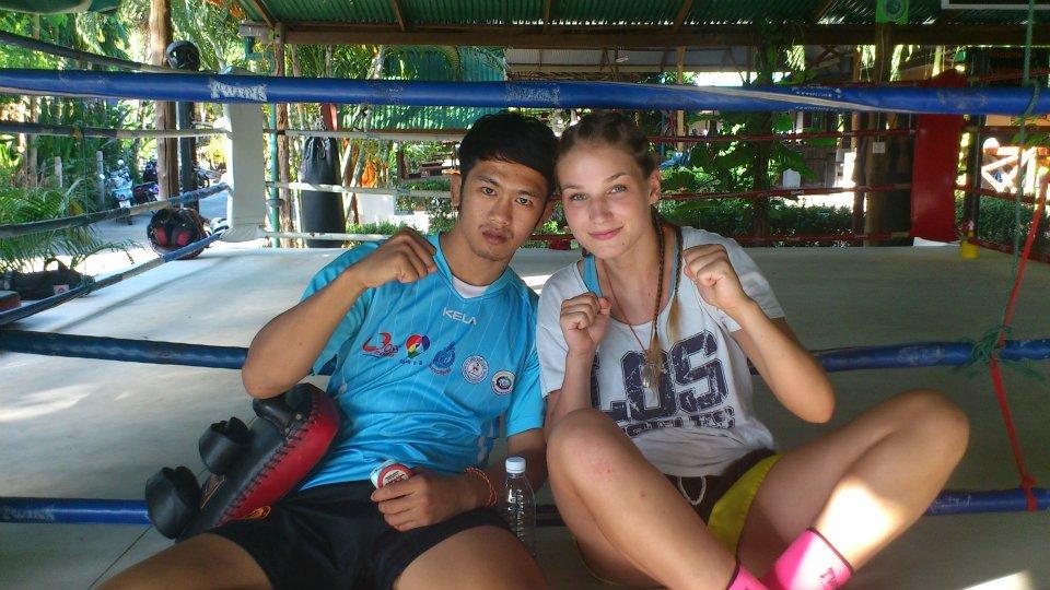 Anna in Thailand (Photo: Anna Tatjana LieFB)