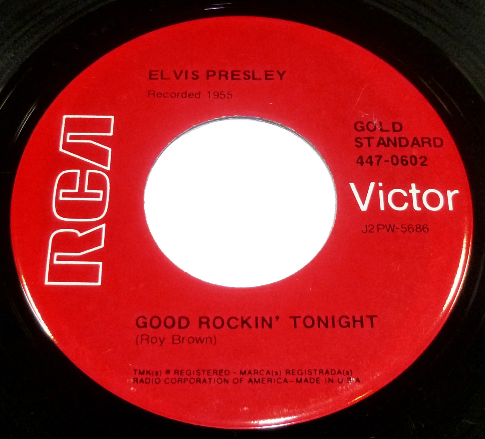 Good Rockin' Tonight / I Don't Care If The Sun Don't Shine 447-0602grgfs1