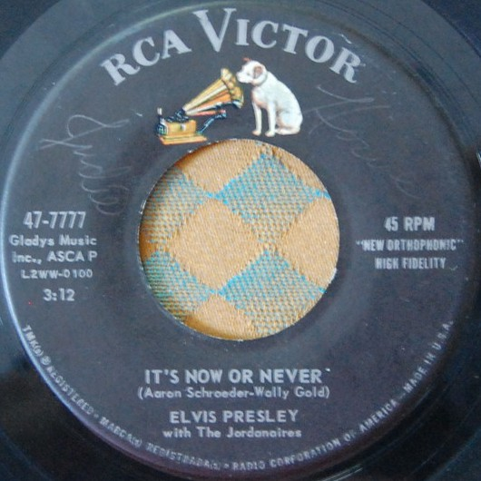 It's Now Or Never / A Mess Of Blues 47-7777cdko6s