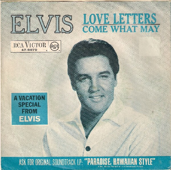 Love Letters / Come What May 47-8870-1tufll