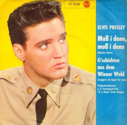 Wooden Heart (Muß I Denn) / Tonight's All Right For Love (G'schichten Aus Dem Wiener Wald) 47-9340-1bzu7j