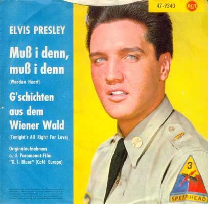 Wooden Heart (Muß I Denn) / Tonight's All Right For Love (G'schichten Aus Dem Wiener Wald) 47-9340-29quv9