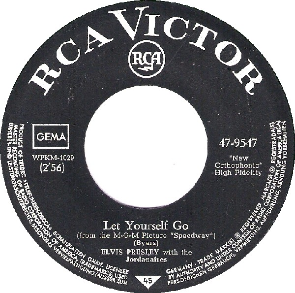 Your Time Hasn't Come Yet Baby / Let Yourself Go 47-9547-4hv5a6