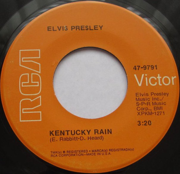 Kentucky Rain / My Little Friend 47-9791cjku75