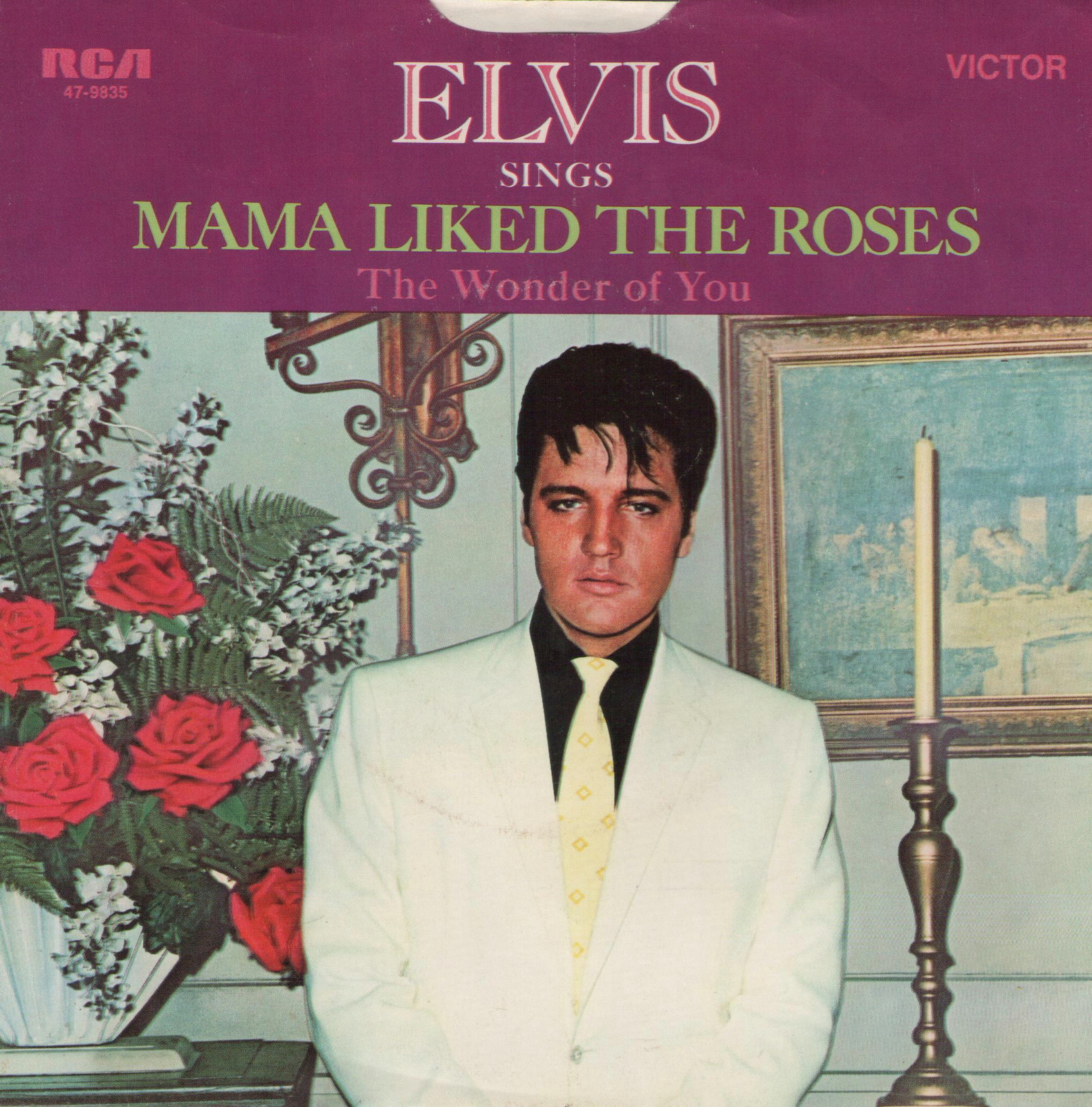 The Wonder Of You / Mama Liked The Roses 47-9835bwrp5o