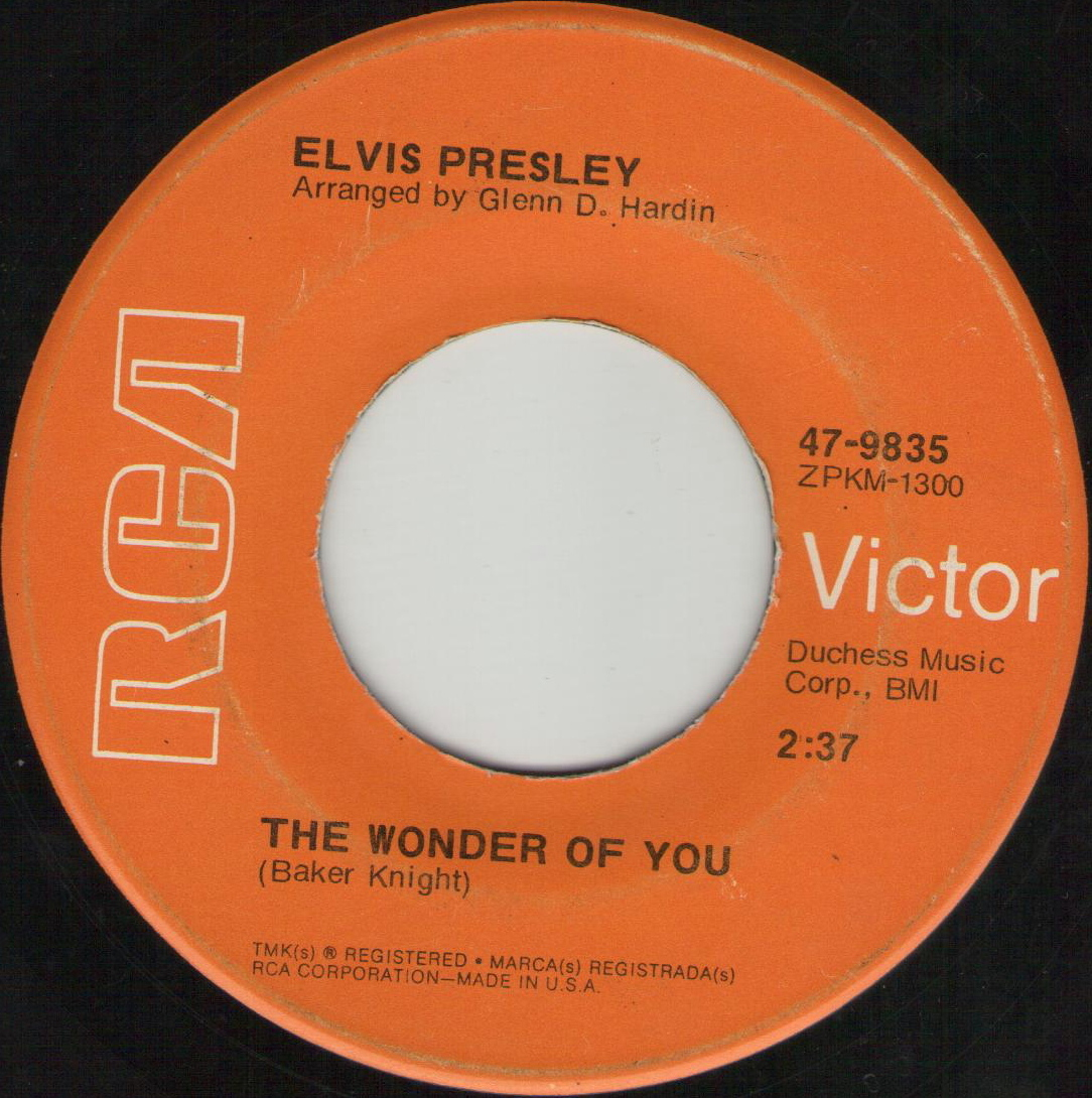 The Wonder Of You / Mama Liked The Roses 47-9835c2hpw2