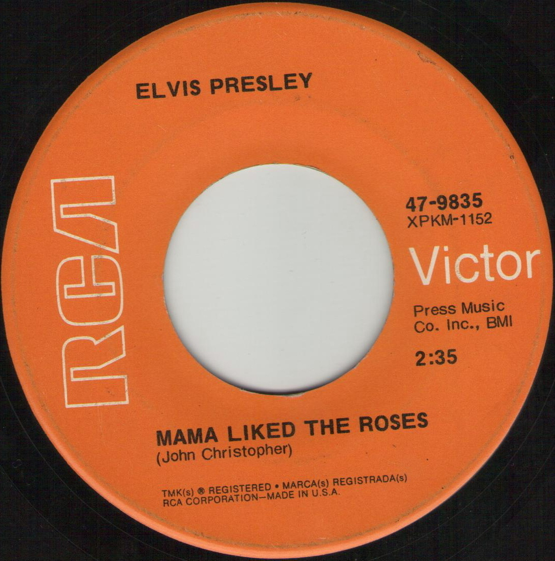 The Wonder Of You / Mama Liked The Roses 47-9835d0zptr