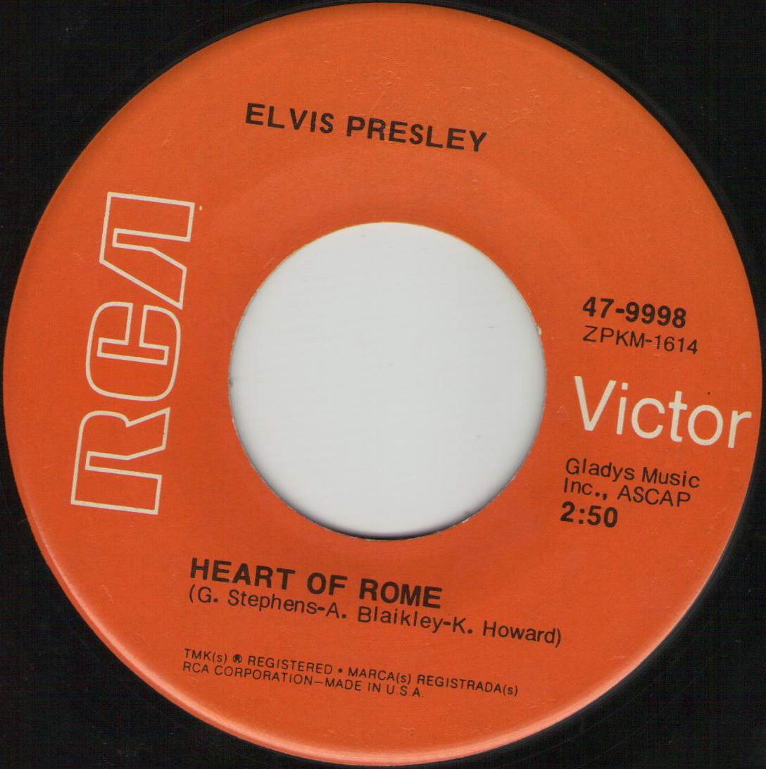 I'm Leavin' / Heart Of Rome 47-9998drtau3