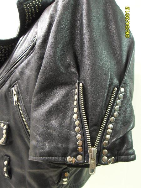 Vintage*Leder*Bikerjacke*Motorrad*Chopper*Lederjacke*Jacke*M*Festival