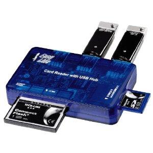 ebay: Hama EasyLine Card Reader & USB Hub für nur 3,99€ inkl. Versand (von lets-sell)