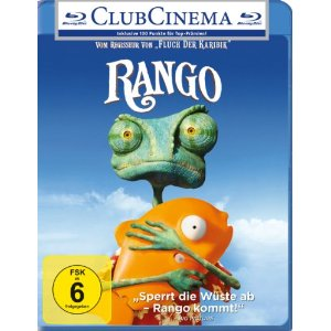 amazon: Rango (Blu-ray) für nur 9,97€ inkl. Versand - Oscar Gewinner (Best Animated Feature Film)