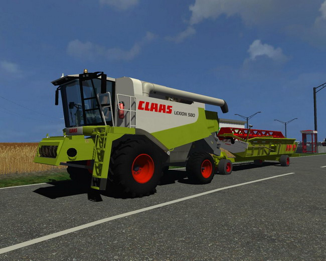 CLAAS Lexion 580 BIG PACK